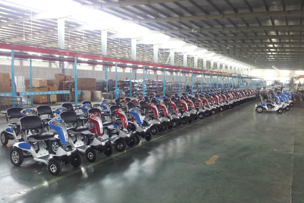 Tzora warehouse we are mobility scooter manufacturers
