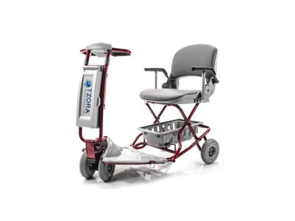 Classic mobility scooter in red